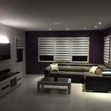 OK - ARNOU - LES HERBIERS réaménagement salon séjour eclairage son et image (1)