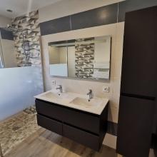 salle de bains meuble double vasque